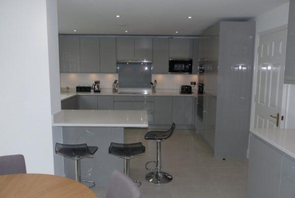 Remo Silver Grey Gloss kitchen