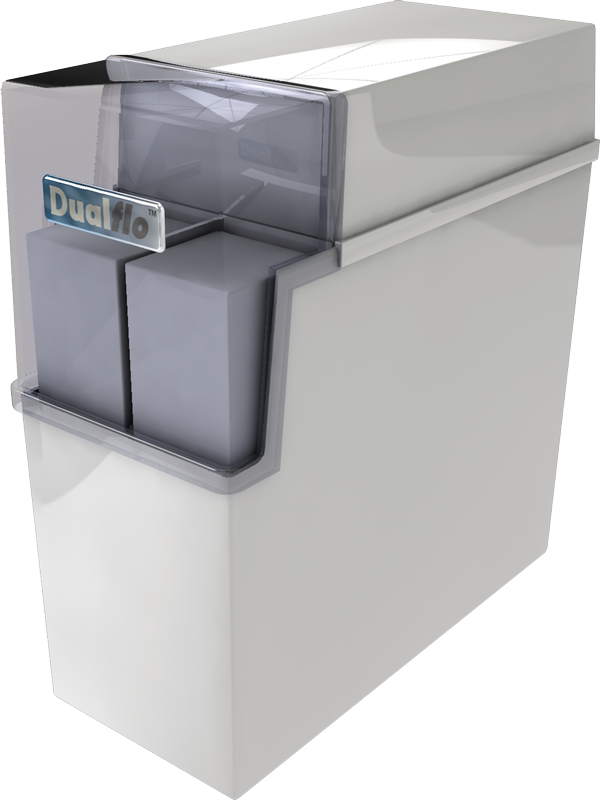 Dual Flo water softener